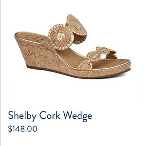 Jack Rogers Shelby Cork Wedge 10M